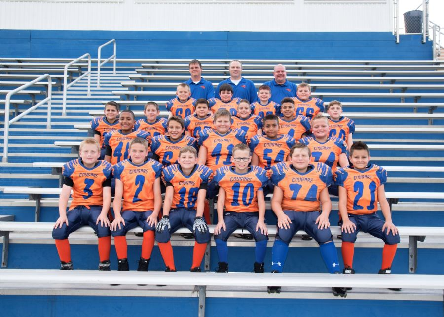 2018 JV Football Team