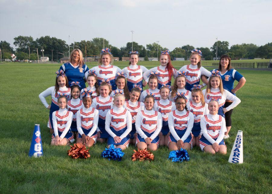 2018 Varsity Cheer Team